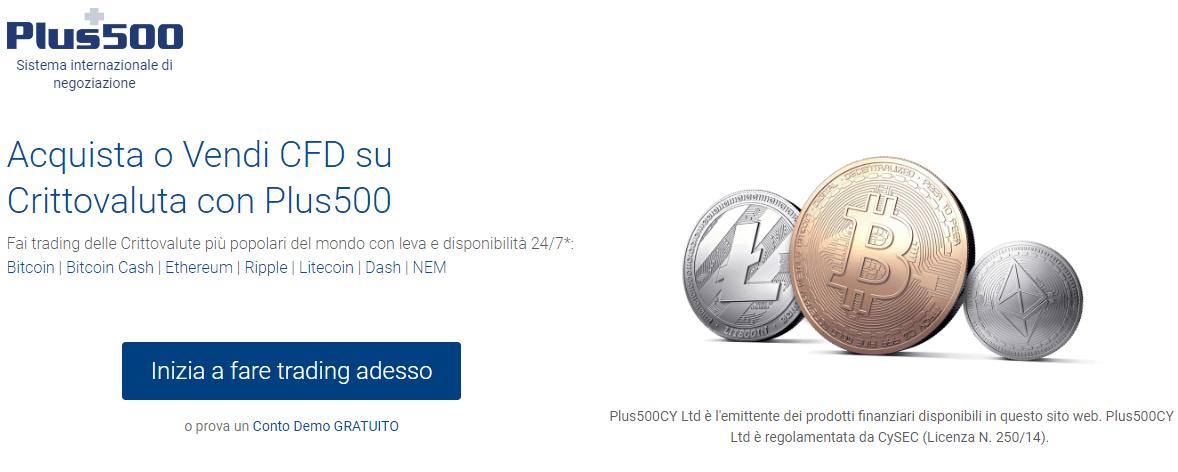 plus500-criptovaluta