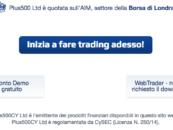 Plus500: opinioni e demo broker trading CFD