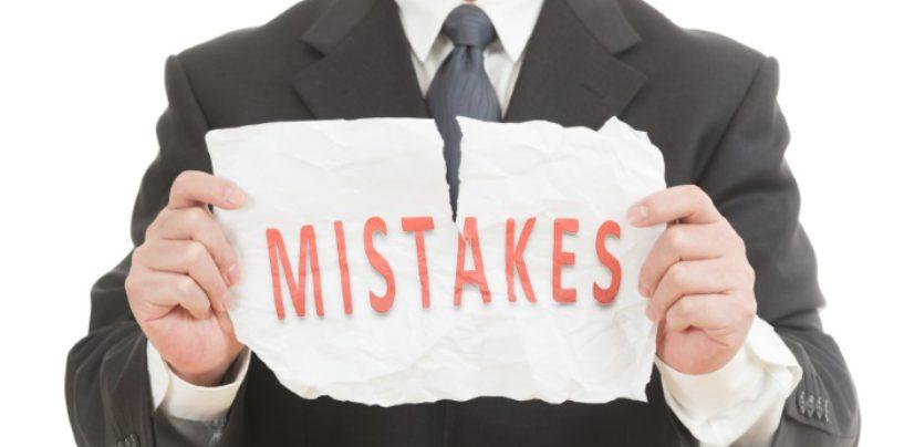 Forex errori comuni: come evitarli
