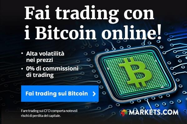 Market:Trading con i Bitcoin