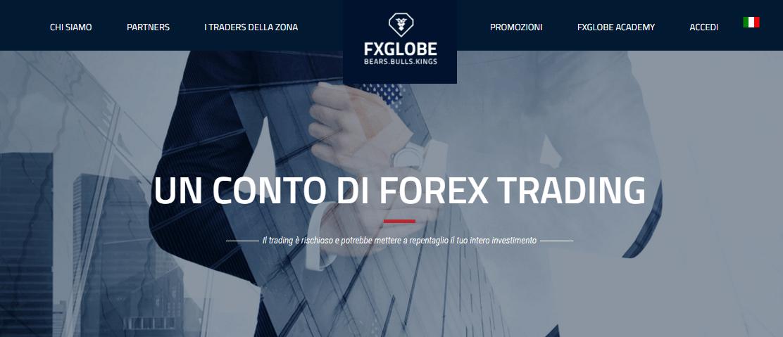 fxglobe-conto di trading forex