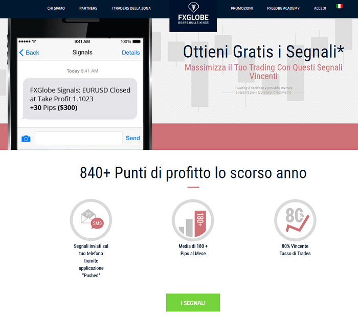 Segnali forex trading