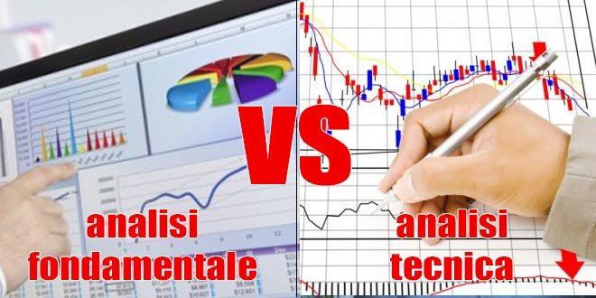 Meglio l'analisi tecnica o l'analisi fondamentale?