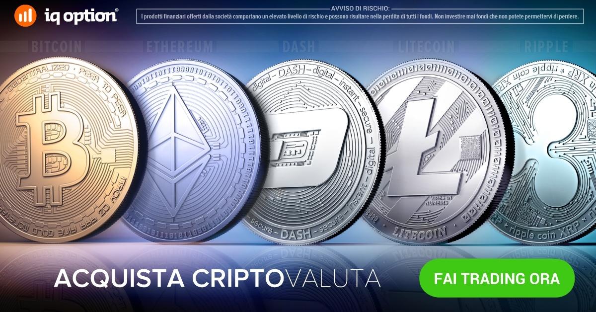 Come fare trading in CFD sulle monete virtuali