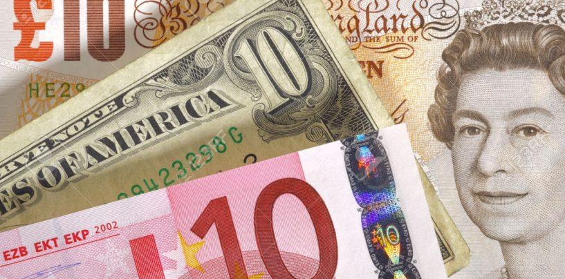 Sterlina ai massimi da quasi 2 anni sull'euro